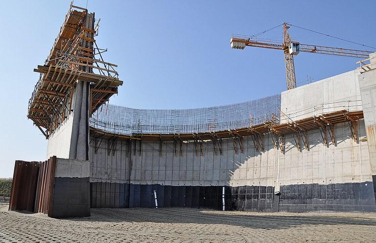 New Racibórz Dolny Dam, Poland