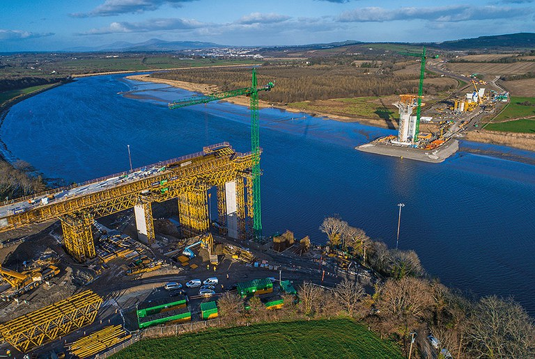 New Ross, the longest extradosed bridge in the world