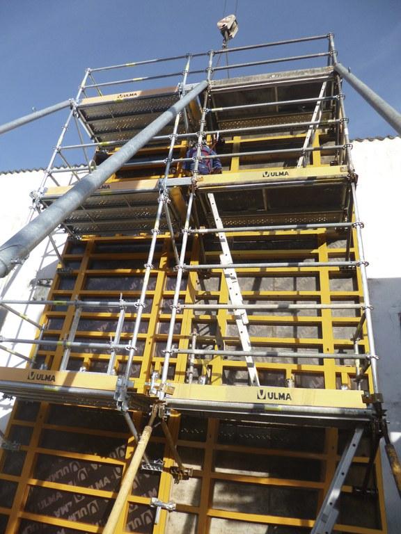 New SBU Safety Platform designed to work with wall formwork