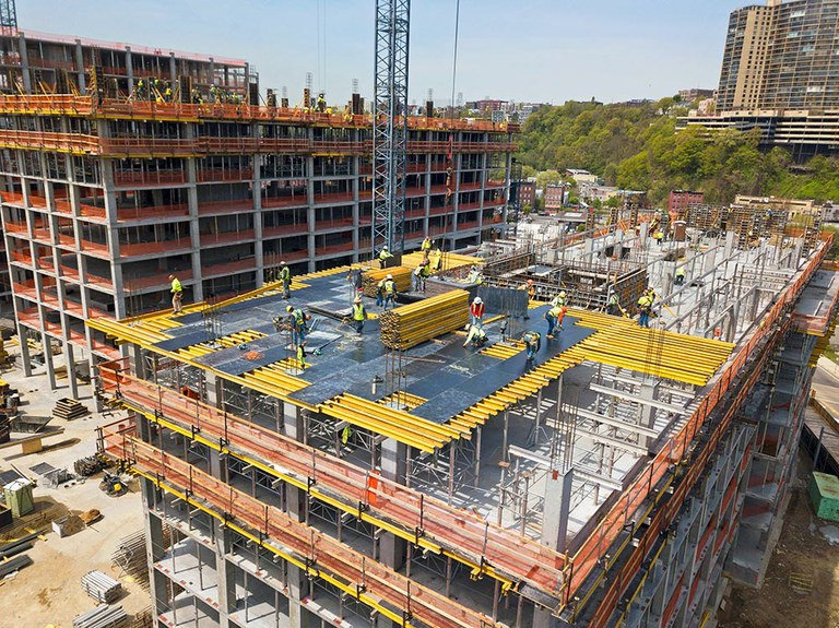 Productivity and safety at the 800 Harbor Boulevard building in New Jersey
