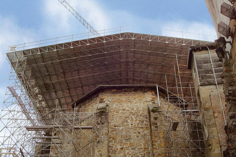 BRIO Scaffolding Roofs