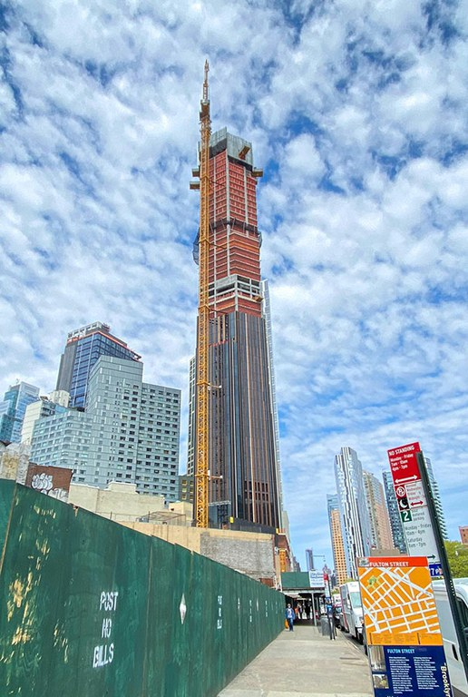 The tallest building in the Brooklyn skyline
