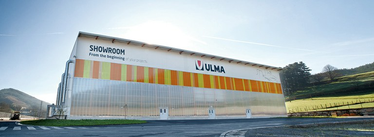 ULMA Construction Showroom at headquarters
