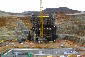 Toromocho open pit mine in Peru