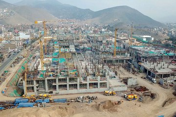 ULMA is collaborating in the construction of the Real Plaza de Puruchuco Shopping Centre, one of the largest shopping centres in Peru