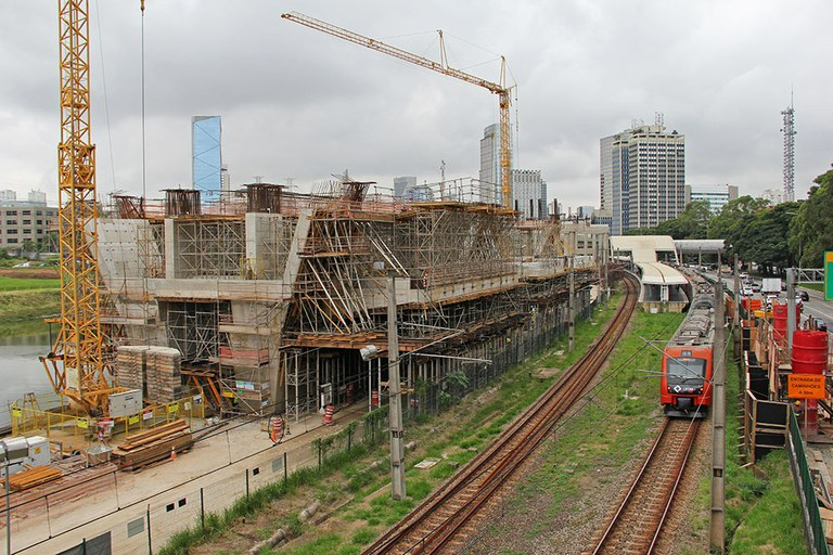 ULMA formwork, shoring, and scaffolding solutions for Morumbi Station in São Paulo, Brazil