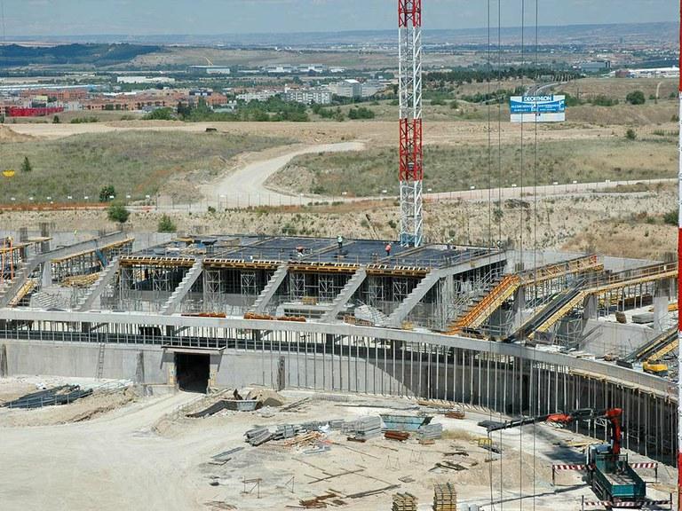 ULMA takes part on the newly-opened Wanda Metropolitano Stadium in Madrid