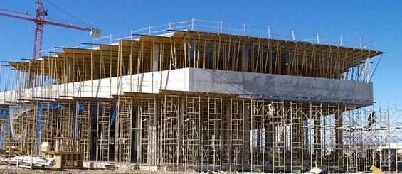 Encofrado de losa recuperable RAPID: idóneo para estructuras horizontales de hormigón.