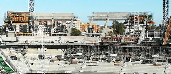 Estadio Benito Villamarín, Sevilla, España