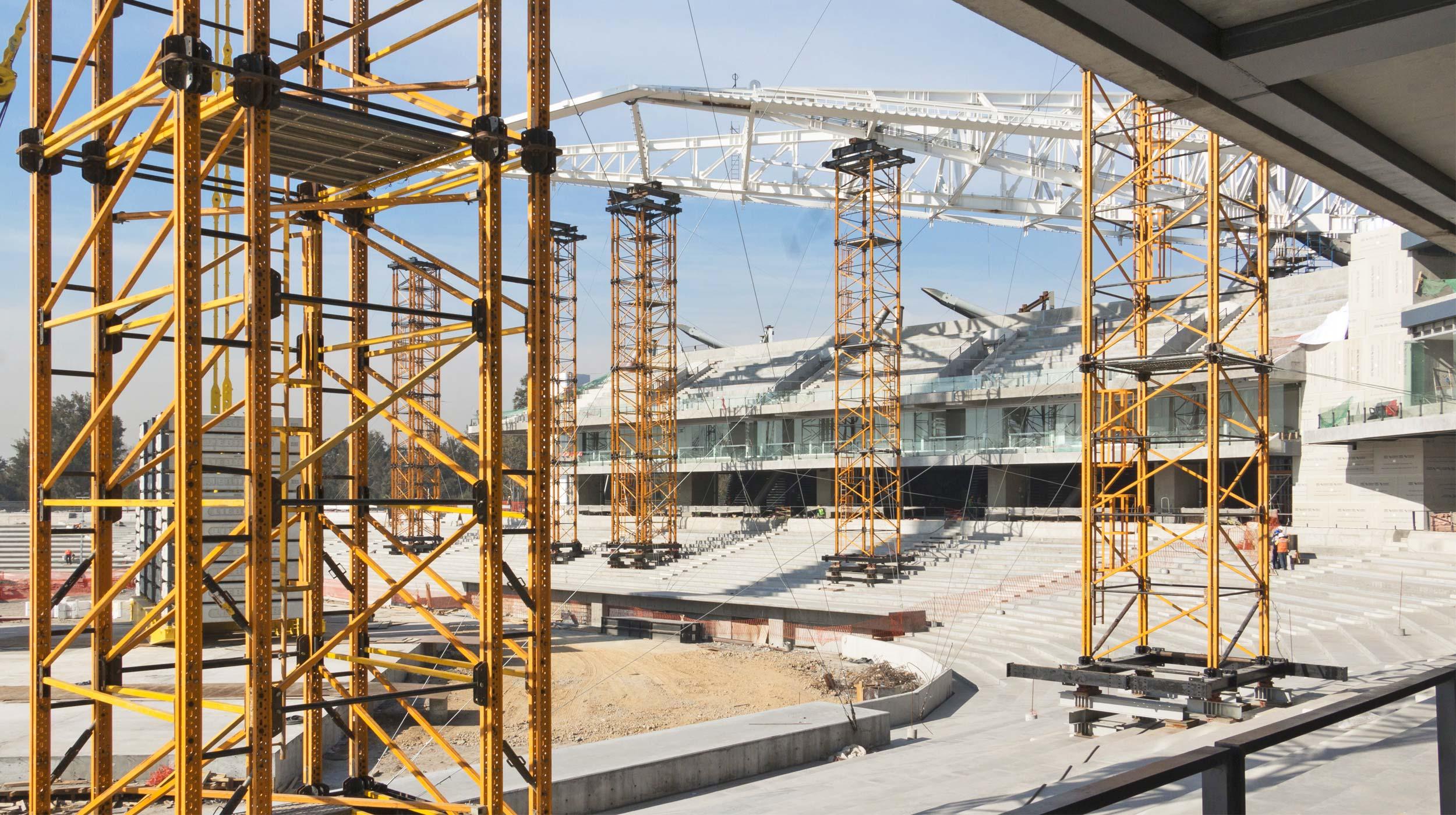 ULMA ha participado en la construcción del Estadio Alfredo Harp Helú ubicado en la Ciudad de México y nueva sede del equipo Diablos Rojos del México.