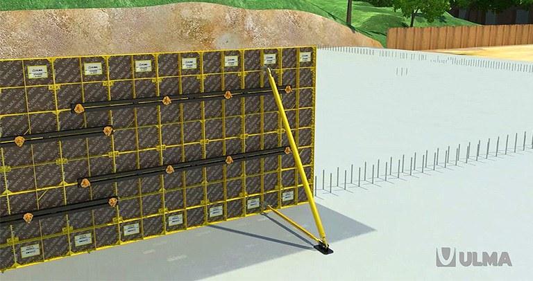 Encofrado modular ligero COMAIN