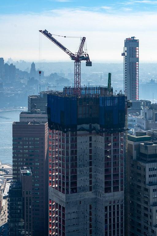 La edificación de la torre 130 William redefinirá el paisaje urbano de Manhattan
