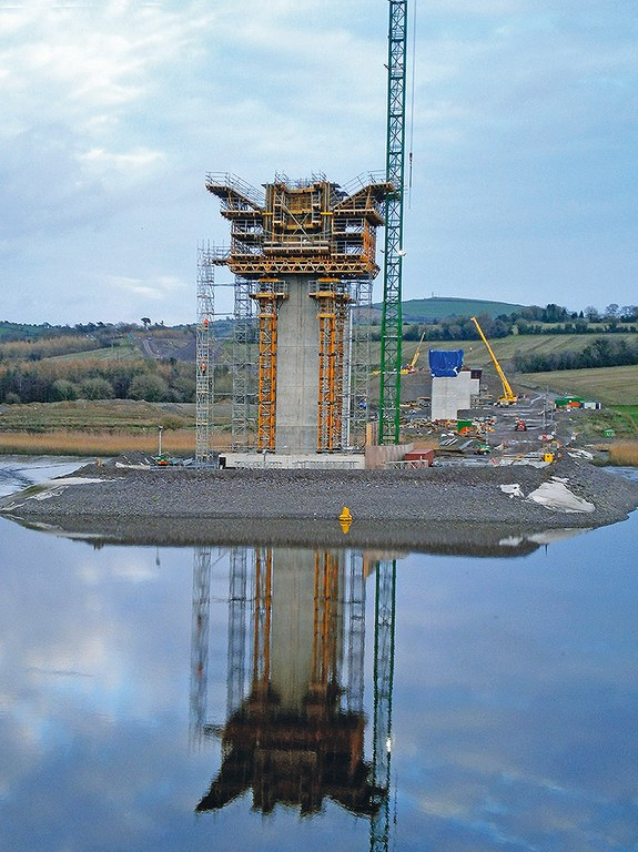 New Ross, el puente extradosado más largo del mundo