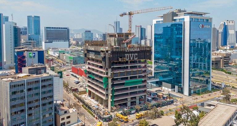 Nueva torre en el centro de Lima, Perú