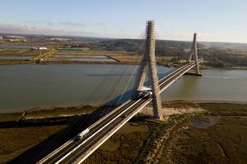 Remodelación del puente Internacional Guadiana