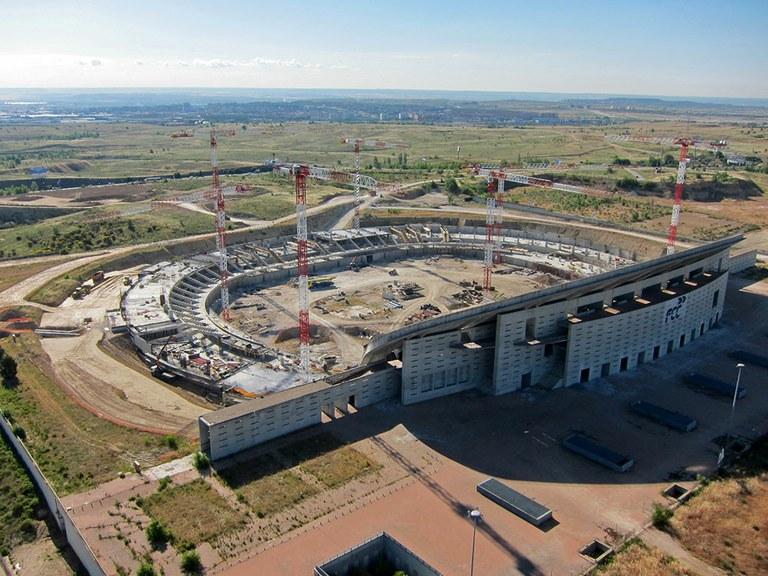 ULMA participa en el recién inaugurado estadio Wanda Metropolitano en Madrid